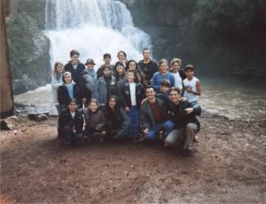 2001 - Visita a uma usina hidrelétrica
